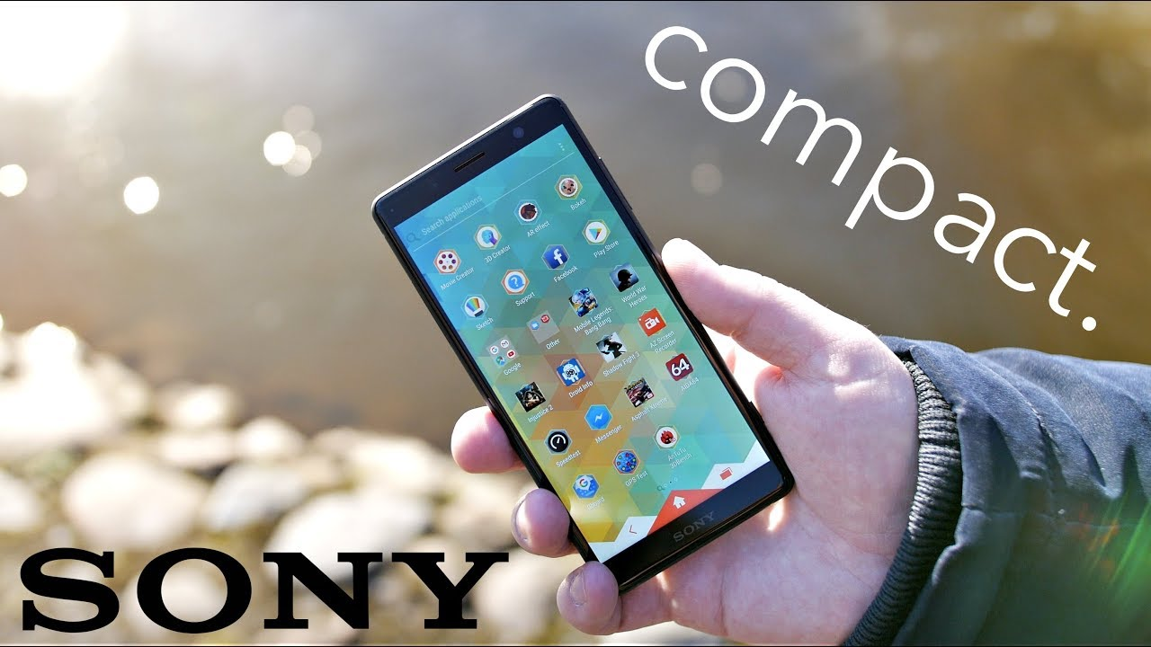 Sony Xperia XZ2 Compact Review - The Best Compact Android Smartphone 2018!