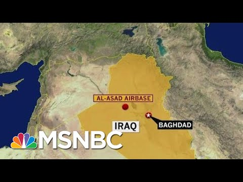 Rockets Hit Iraqi Airbase Hosting U.S. Troops, Say U.S. Forces | Morning Joe | MSNBC