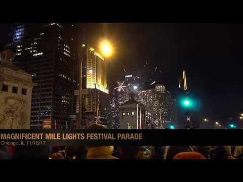 2017 Magnificent Mile Lights Festival Parade (4K)
