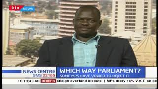 VAT discussion with  Nyando MP Jared Okello