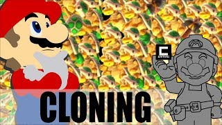 What Happens if 1067 Hammer Bros Attack Mario at Once? (Super Mario Maker)
