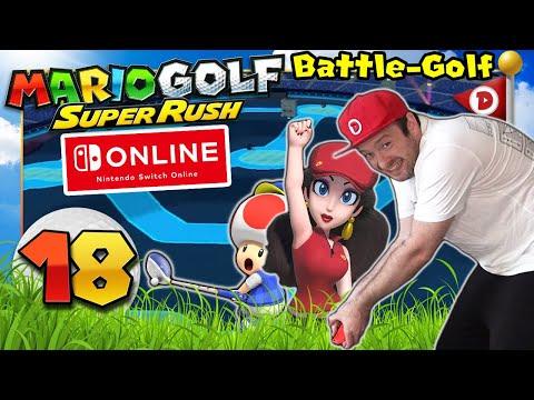 DOMTENDO spielt mit BEWEGUNGSSTEUERUNG Battle Golf 😂 MARIO GOLF: SUPER RUSH ⛳ #18