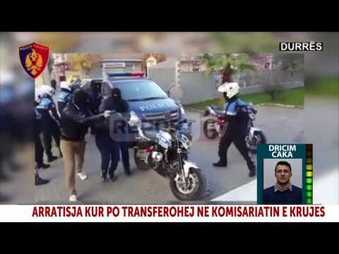 Report TV - Krujë, anëtari i bandës së Niklës i shpëton policisë dhe arratiset