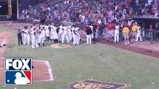 Huge minor league baseball brawl - Birmingham Barons vs. Jacksonville Suns
