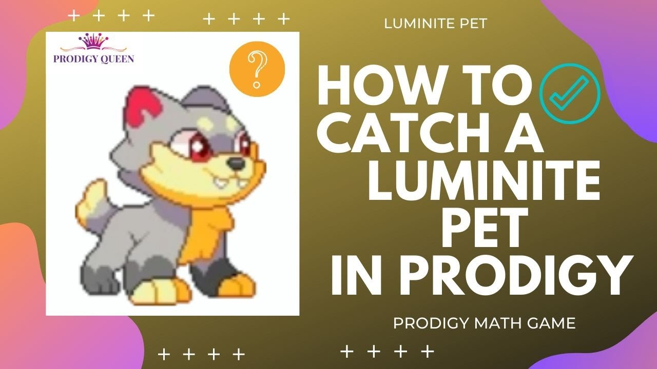 Prodigy Math Game Where And How To Catch A Luminite Pet In Prodigy Youtube