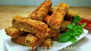 Veg Fingers Snacks Recipe in Hindi by Indian Food Made Easy