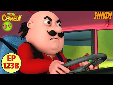 Motu Patlu | Motu Ki Bus | Cartoon in Hindi for Kids | Funny Cartoon Video thumbnail