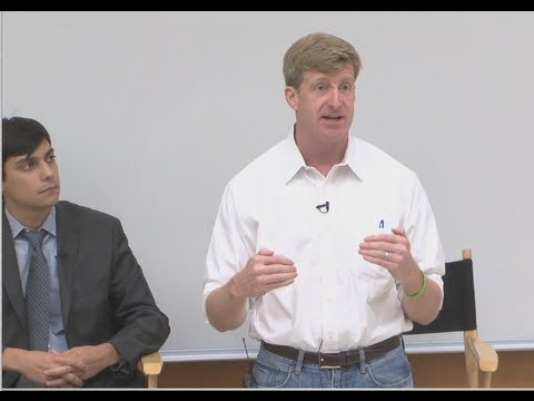 Saks Institute Lecture with Patrick Kennedy: Living with Mental Illness