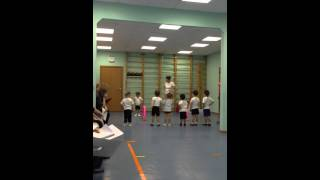 Открытый урок по физкультуре в 1 мл. группе