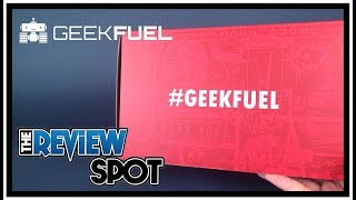 Subscription Spot | Geekfuel August 2017 Subscription UNBOXING!