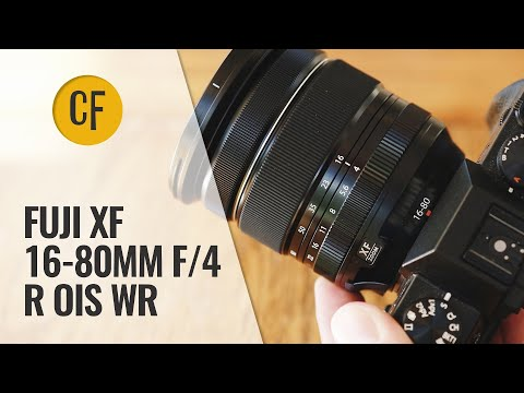 Fuji XF 16-80mm f/4 R OIS WR lens review with samples