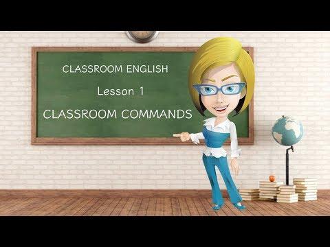 CLASSROOM COMMANDS