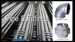 Malleable Iron Pipe & Fittings..