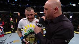 """I promise to be a great champion!"" Alex Volkanovski reacts to huge title win at UFC 245!"