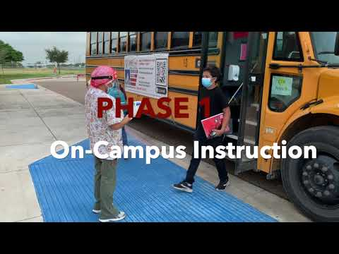Domingo Trevino Middle School: Phase 1 On-Campus Instruction