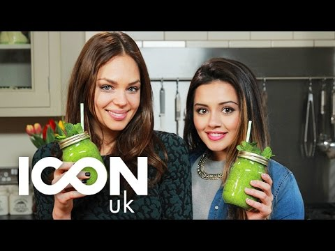 Beauty Boosting Green Smoothie  Kaushal & Danielle Hayley from Drinks Tube