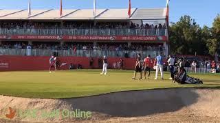 Lee Westwood winning putt at the 2020 Abu Dhabi HSBC Championship
