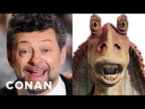 Thumbnail: Andy Serkis CONFIRMS He's Playing An Evil Jar-Jar - CONAN on TBS