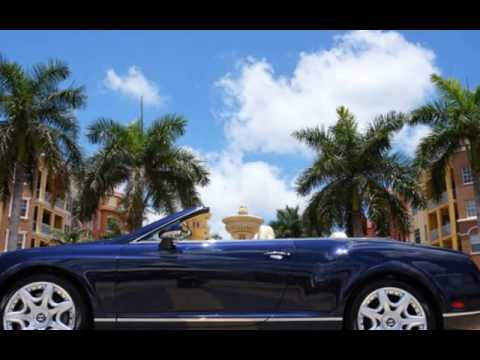 2008 bentley continental gt gtc convertible for sale in for Black horse motors naples fl