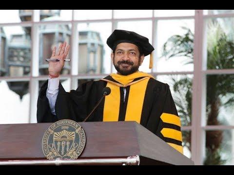Siddhartha Mukherjee | USC Commencement 2018 Keynote Speaker