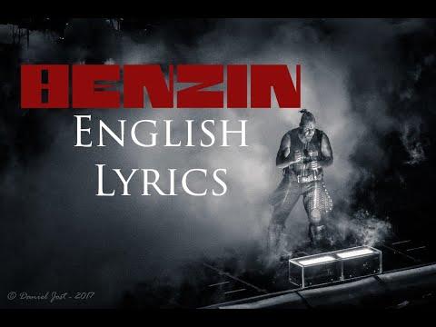 Benzin Lyrics