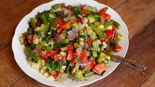 Warm Quinoa Salad With Lime, Garlic And Ginger Recipe