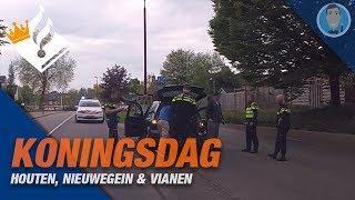KONINGSDAG in Houten, Vianen en Nieuwegein. Politievlogger Jan-Willem.