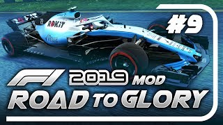 F1 Road to Glory 2019 - Part 9: WE LEAD A RACE! GAMBLING ON THE RAIN!