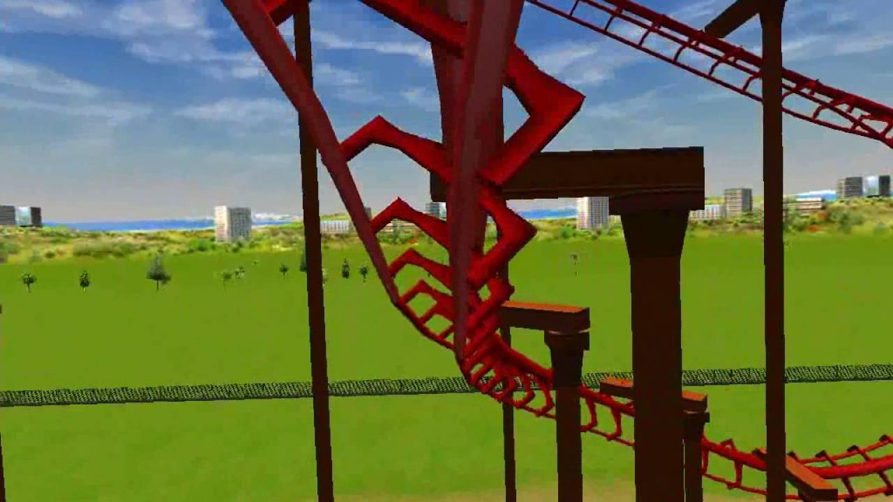 Kong RCT3 Six Flags Discovery Kingdom Home Park