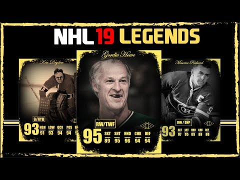 30 LEGENDS THAT I WOULD LIKE TO SEE IN NHL 19