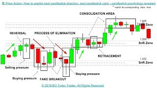 📚 Price Action: How to predict next candlestick direction, next candlestick psychology revealed