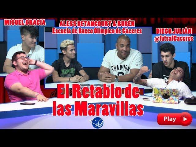 EL RETABLO con Diego Julián, Aless Betancourt & Rubén y Miguel Gracia