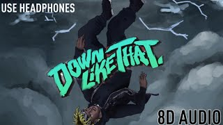 8D AUDIO: KSI - Down Like That feat. Rick Ross, Lil Baby, S-X