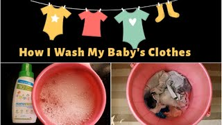 How I Wash My Baby's Clothes   Safest Liquid Detergent For Kids Clothes   Mama Earth Baby Products