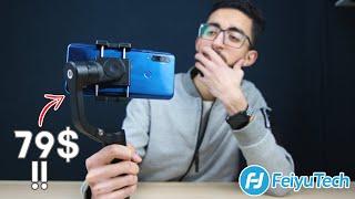 ارخص مانع اهتزاز احترافى للموبايل | feiyutech Vlog Pocket