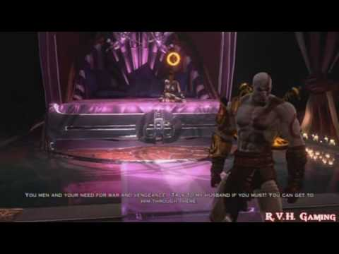 God Of War 3 Part 23 The Upper Gardens To Aphrodites Chamber