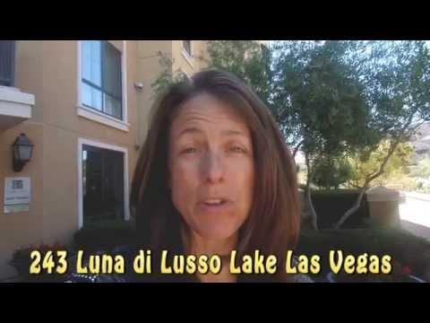 243 Luna di Lusso Lake Las Vegas