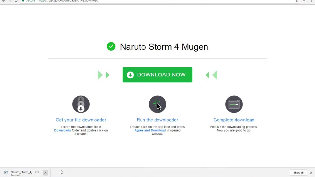 DOWNLOAD NARUTO STORM 4 MUGEN FOR PC by Life Hack