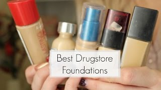 Best drugstore foundations for Oily skin | DramaticMAC