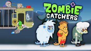 Zombie Catchers РЕЙД на ЗОМБИ БОССОВ Мультяшная игра про ОХОТУ на ЗОМБИ от Mobik'а