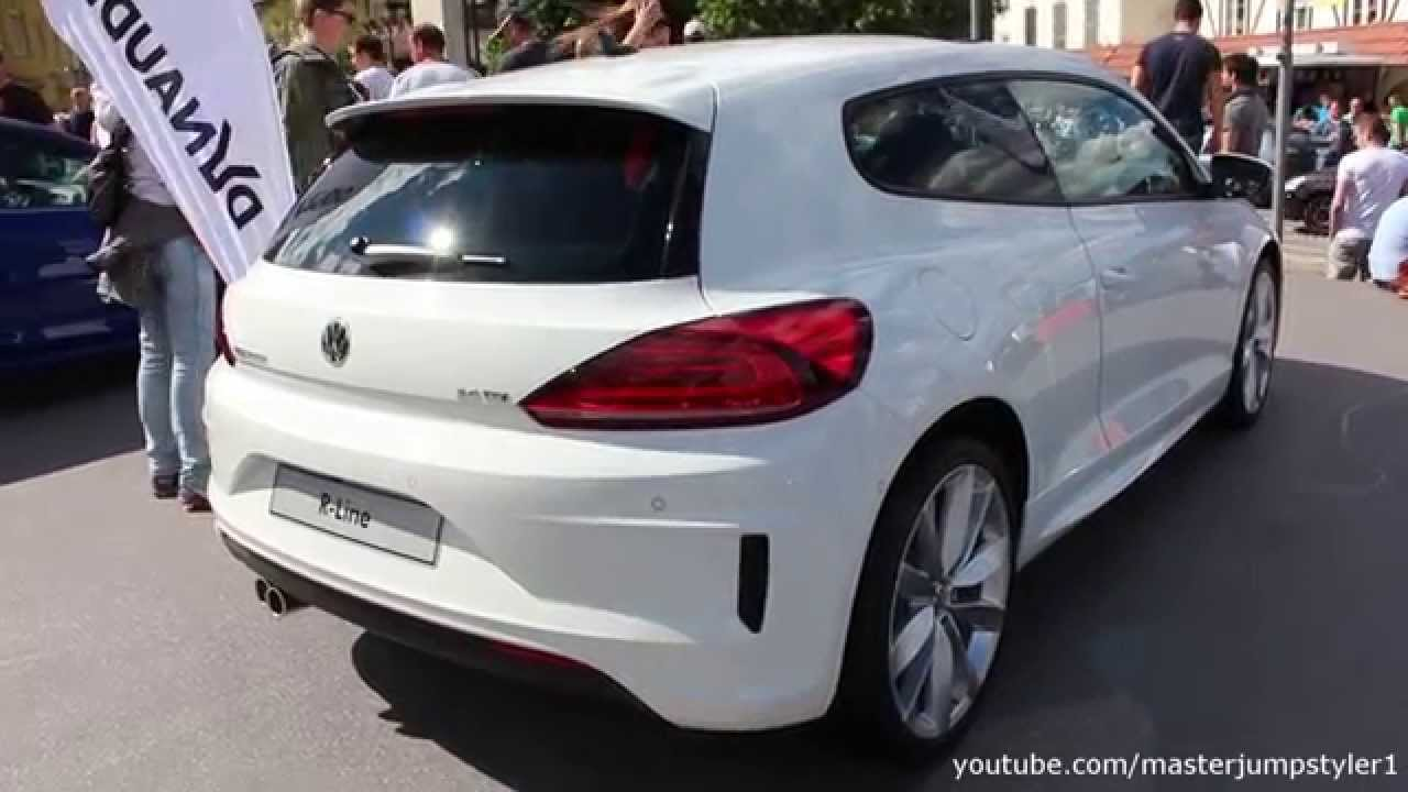 vw scirocco r line youtube. Black Bedroom Furniture Sets. Home Design Ideas