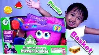 Mainan Anak Keranjang Piknik 💖 PICNIC BASKET From ELC.COM 💖 Let's Play Jenica 💖