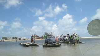 Travessia Rio Ceara-Mirim Extremoz-RN Parte 1