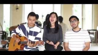 HiVi! - Siapkah Kau Tuk Jatuh Cinta Lagi ( Cover by Maudi, Reno & Amadea ) #GenFitGetFit