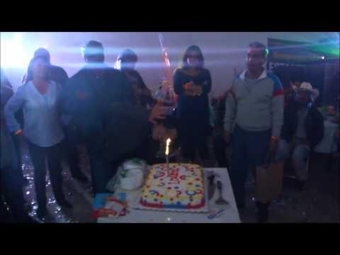 Cumpleaños de Laura en La estanzuela, mineral del chico, Hidalgo karaoke y disco