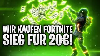FORTNITE SIEG FÜR 20€ GEKAUFT! 💰 | Fortnite: Battle Royale