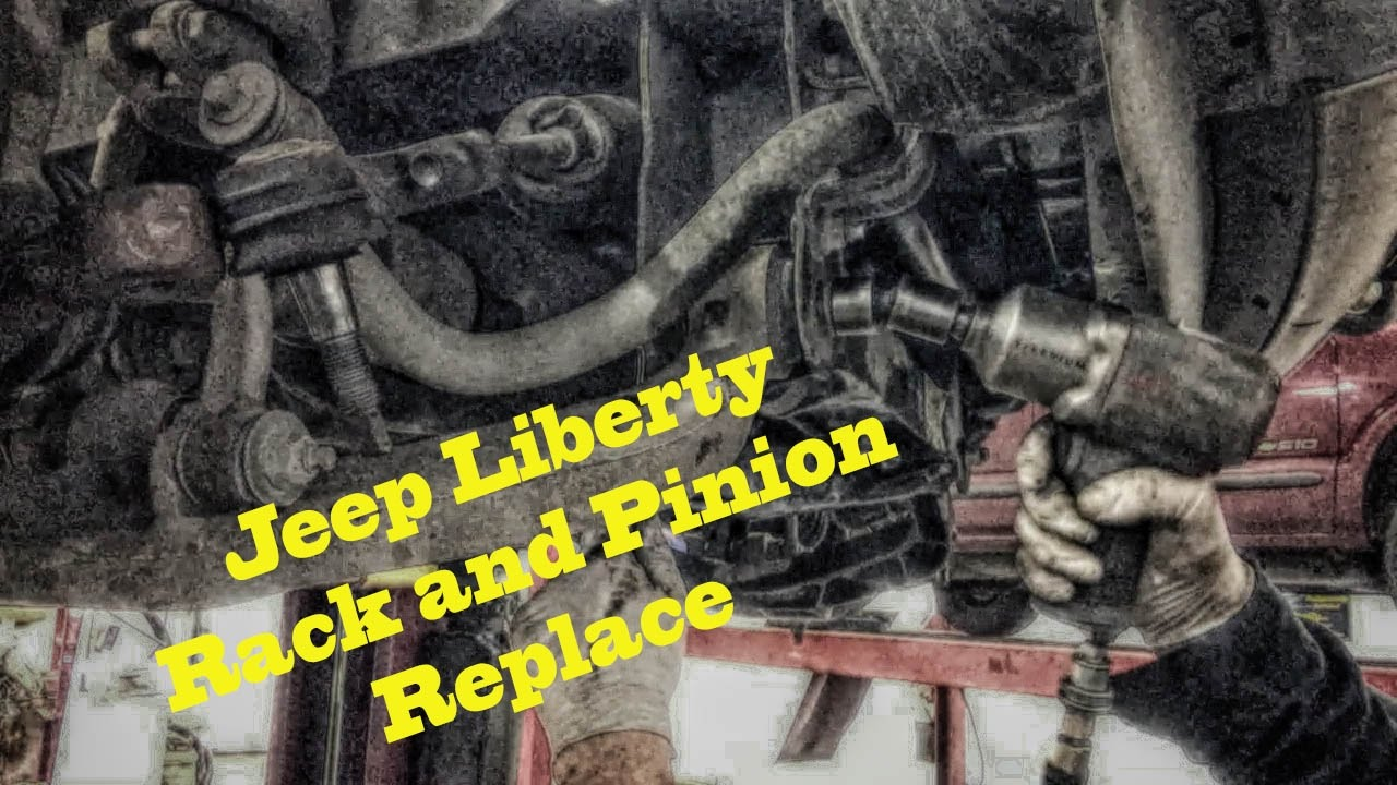 jeep liberty rack and pinion replace under 2 hrs youtube. Black Bedroom Furniture Sets. Home Design Ideas