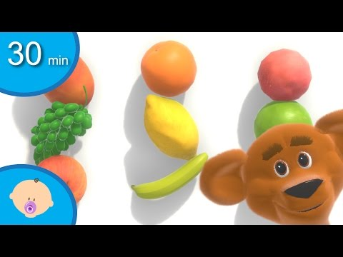 Learn english names of fruits and more for toddlers and babies - Fruit names for kids - tinyschool