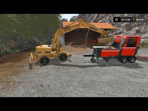 Making wood chips pallets | Slovenia Forest | Farming Simulator 2017 | Episode 6