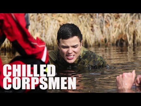 Marines Endure Hypothermia For Training